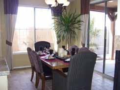 Arizona new home Essex dining room
